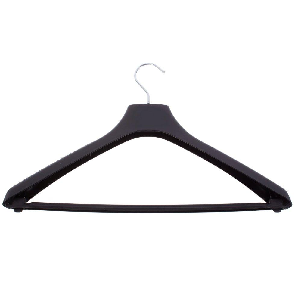 Плечики универсальные 45 см цвет чёрный