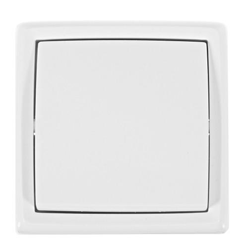 Выключатель накладной Reone 1 клавиша, цвет белый