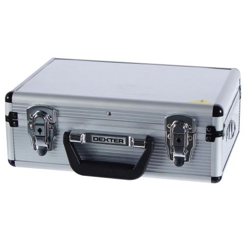Ящик для инструмента Dexter 330х230х120 мм, алюминий, цвет серебро