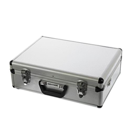 Ящик для инструмента Dexter 455х330х152 мм, алюминий, цвет серебро