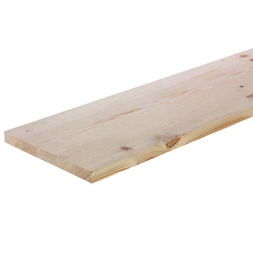 Мебельный щит 2500х200х18 мм хвоя, сорт A/B
