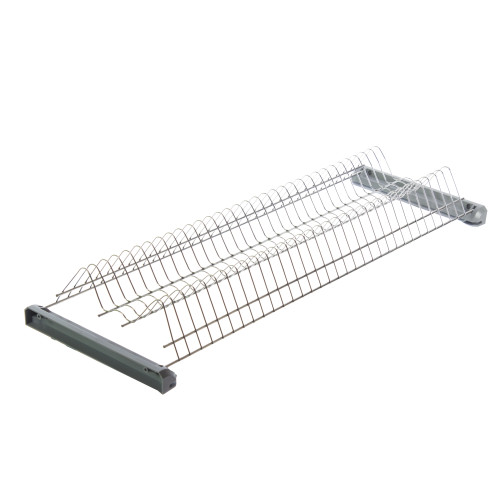 Сушилка для посуды с поддоном для верхнего шкафа 800 мм, металл