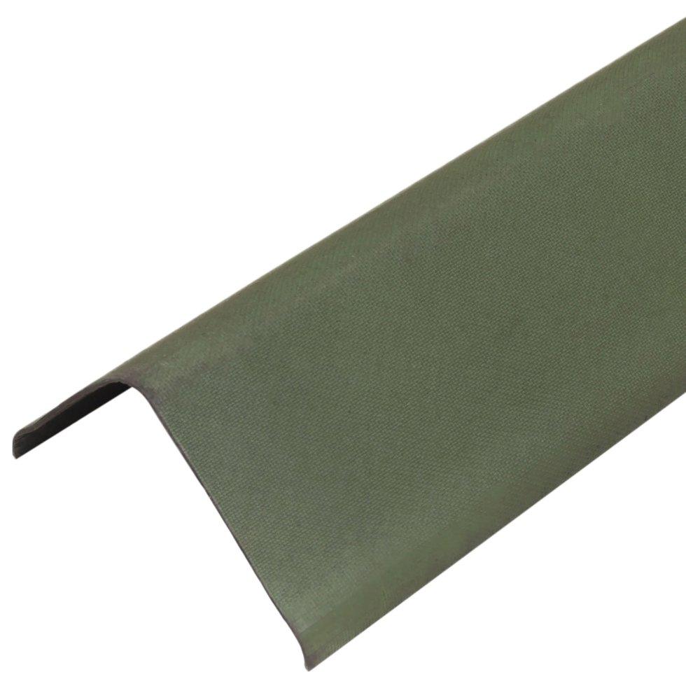 Щипец Ондулин цвет зелёный