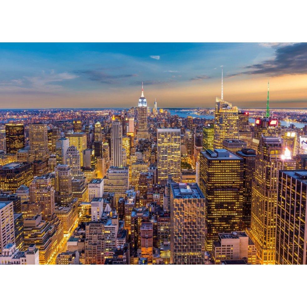 Фотообои бумажные «Закат в Манхэттене» 254х184 см