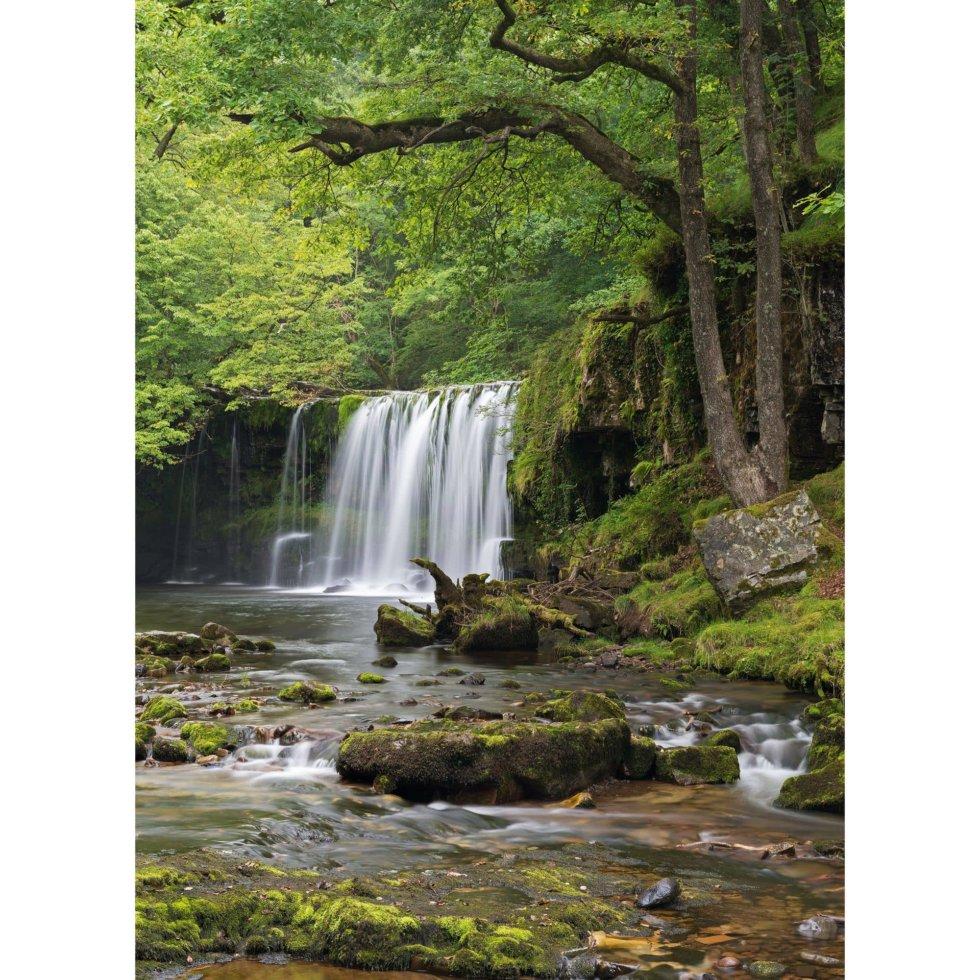 Фотообои бумажные «Снежный водопад» 184х254 см