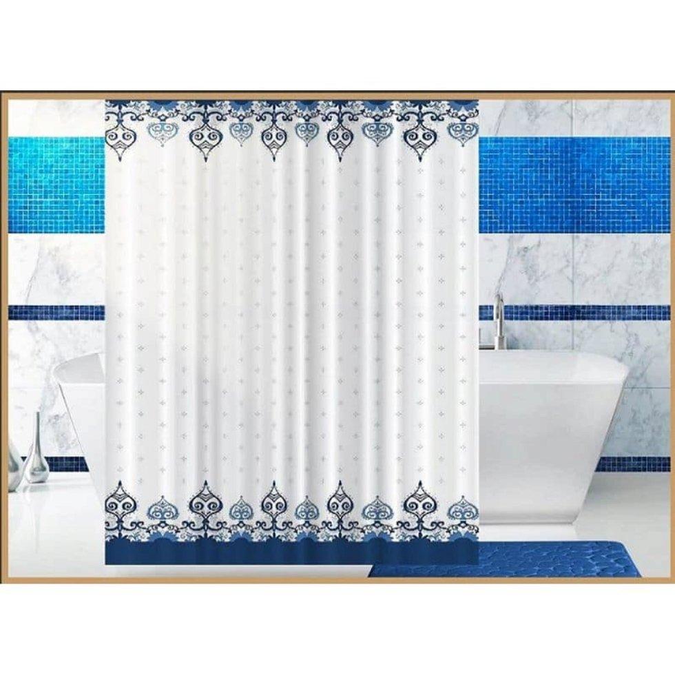 Штора для ванной комнаты «Vostok» 180х180 см цвет белый