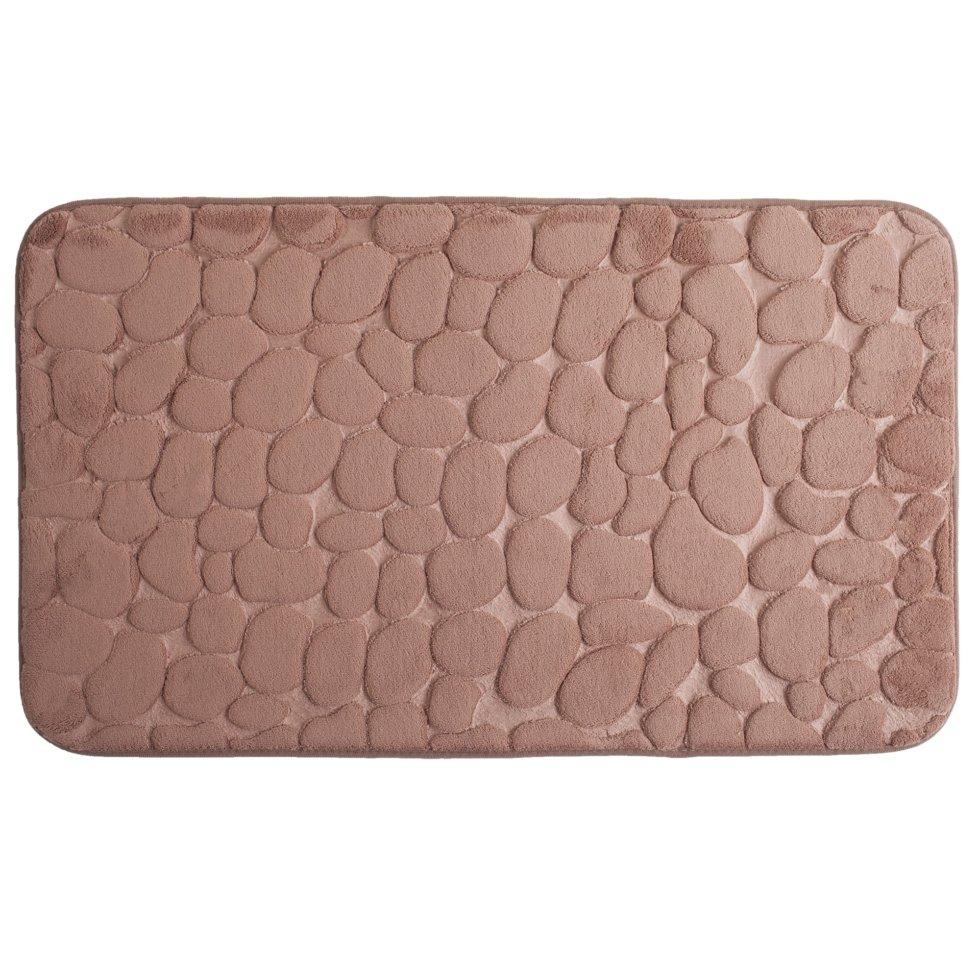 Коврик для ванной комнаты «Luxury» 45х75 см цвет коричневый