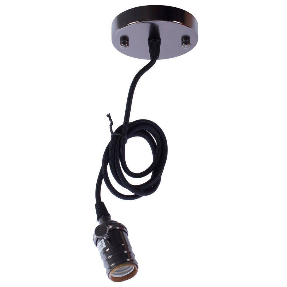 Шнур для винтажной лампы 1xE27х250 Вт, цвет тёмная медь