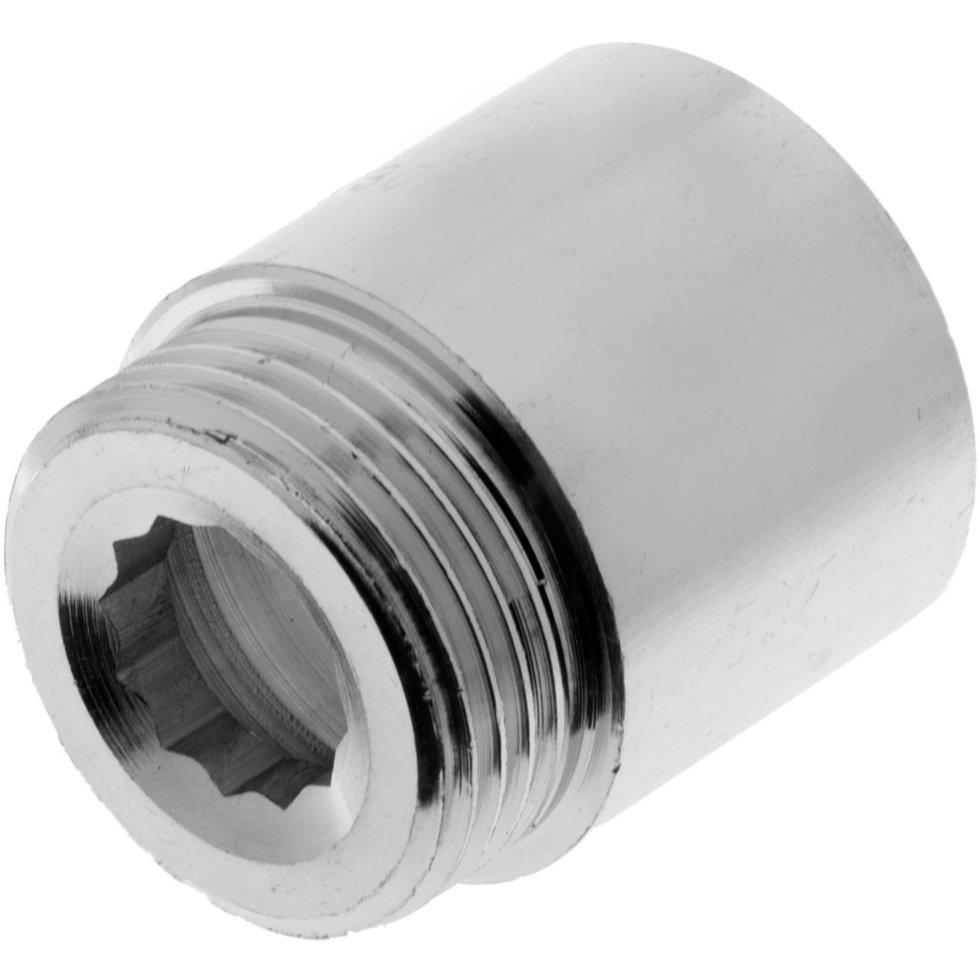 Удлинитель, внутренняя резьба, 1-30 мм, цвет хром
