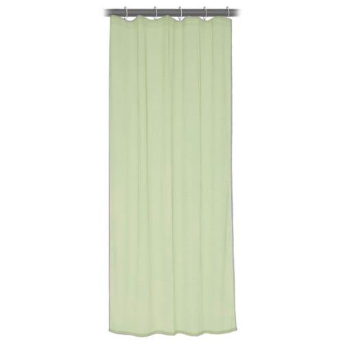 Тюль на ленте 140x260 см органза цвет зелёный