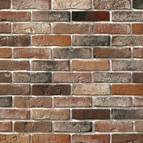 Плитка декоративная Лондон брик, цвет мультиколор, 1.16 м2