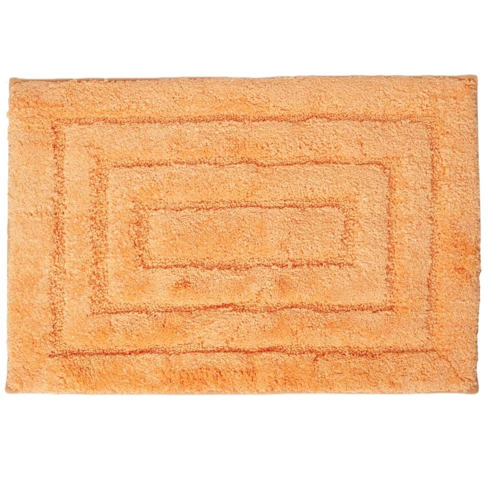 Коврик для ванной комнаты Grampus 45х65 см цвет оранжевый