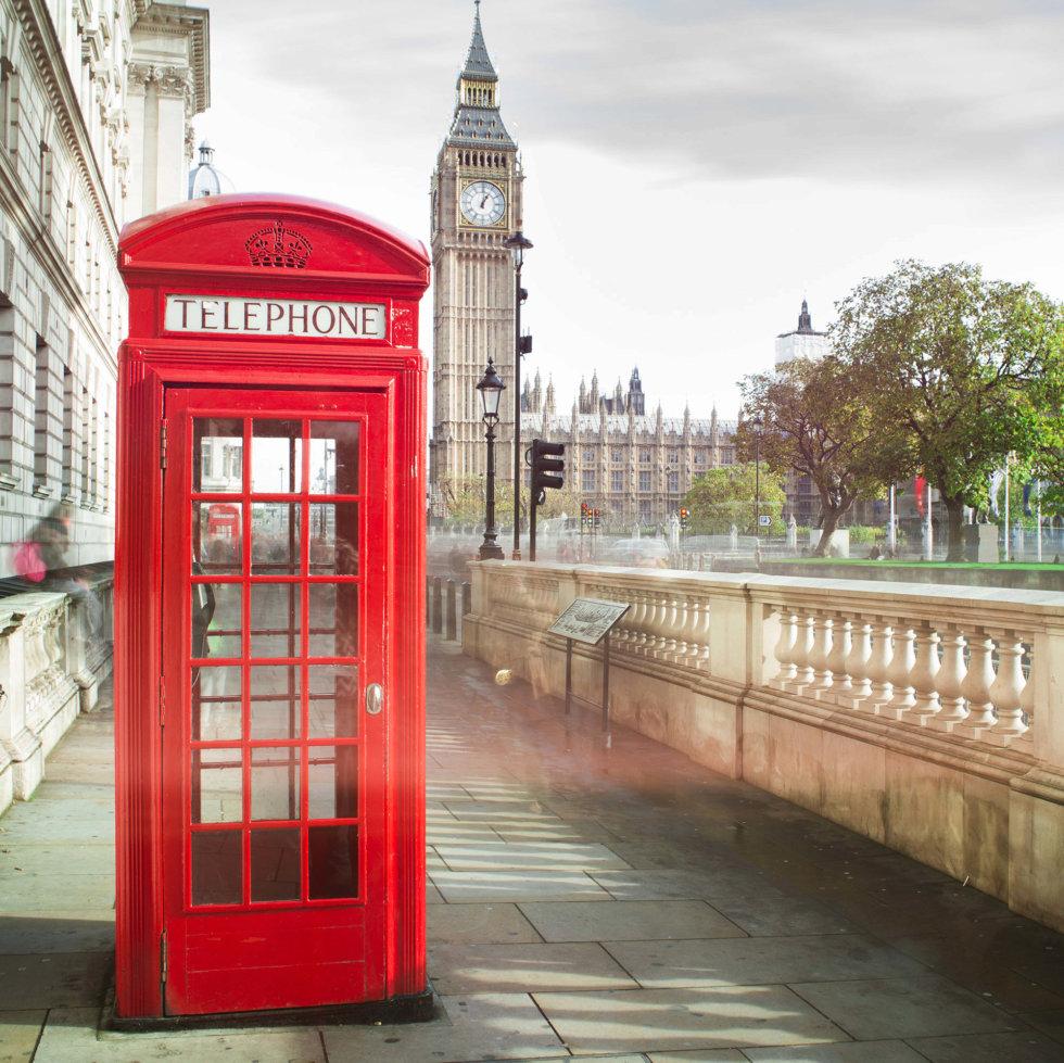 Фотообои флизелиновые «Лондон» 200х200 см