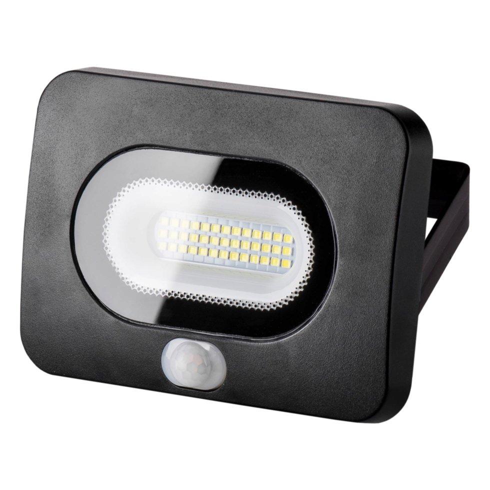 Прожектор светодиодный сенсорный 20 Вт, 1600 Лм, 5500 K, IP65