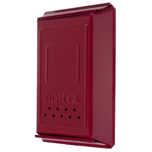 Ящик почтовый с замком, цвет вишня