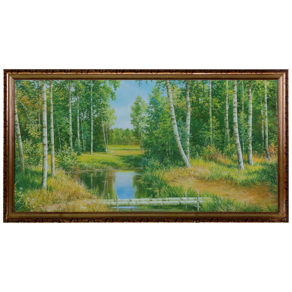 Постер в раме 50х100 см «Пейзаж»