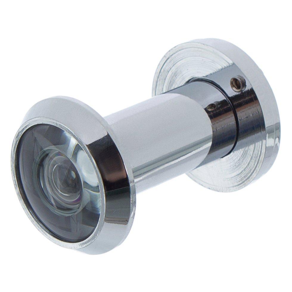 Глазок дверной Armadillo DVG1, 16х35-60 мм, цвет хром