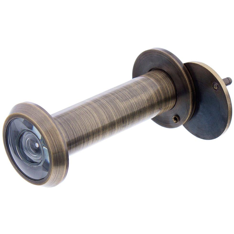 Глазок дверной Armadillo DVG3, 16х60-100 мм, цвет бронза