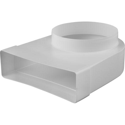 Колено соединитильное плоское-круглое, 60х204, D150 мм