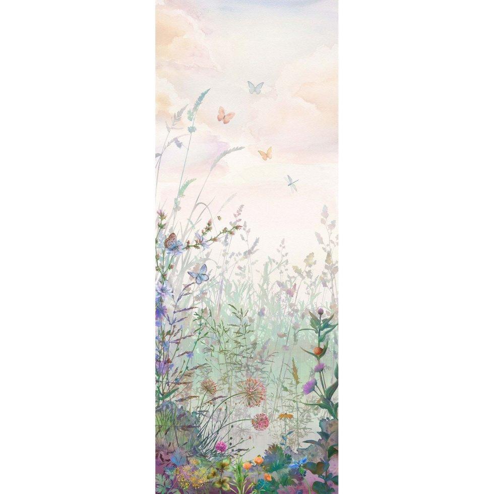 Фреска флизелиновая «Полевые цветы» 100х270 см