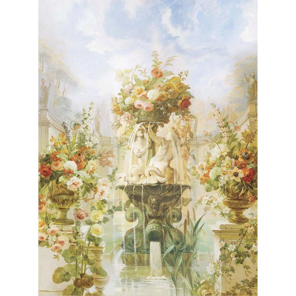 Фреска флизелиновая «Цветочный фонтан» 200х270 см