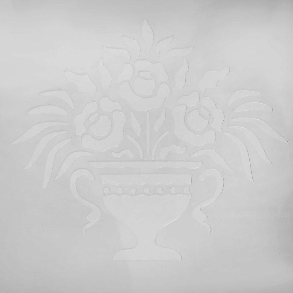Трафарет декоративный «Ваза» 20х29.5 см
