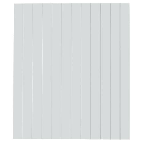Дверь для шкафа Delinia «Фенс» 60х70 см, МДФ, цвет белый