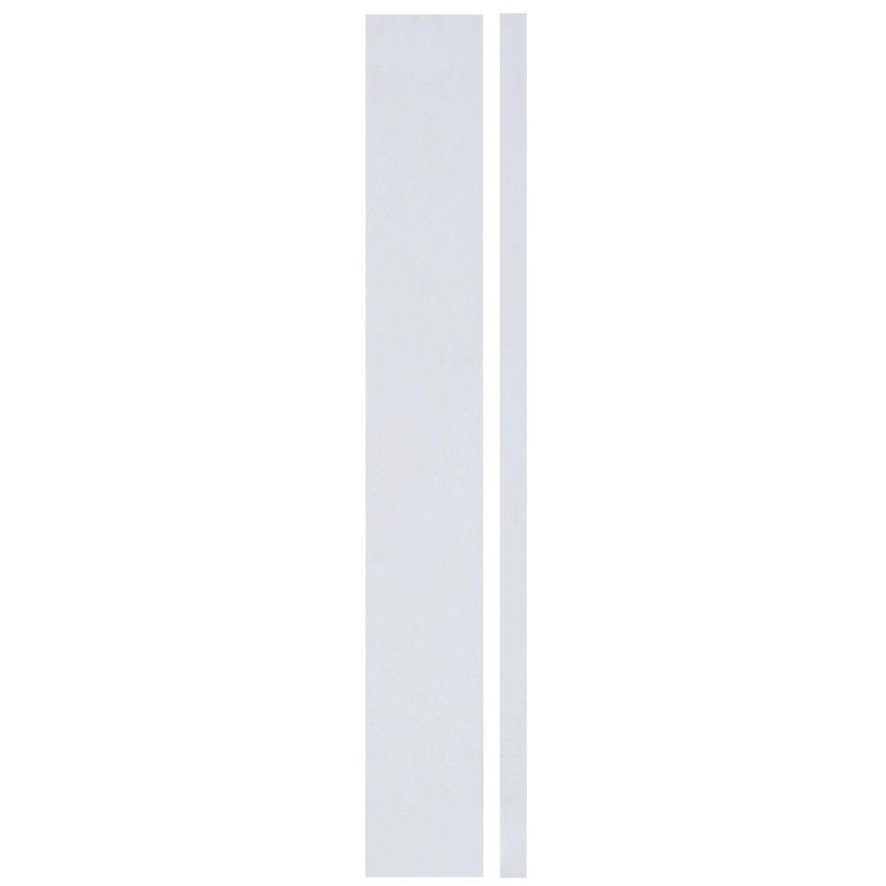 Угол для шкафа Delinia «Фенс» 4х70 см, МДФ, цвет белый