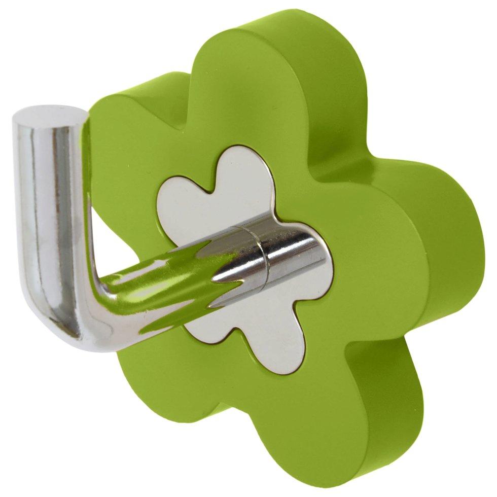 Крючок «Fiore» цвет зелёный