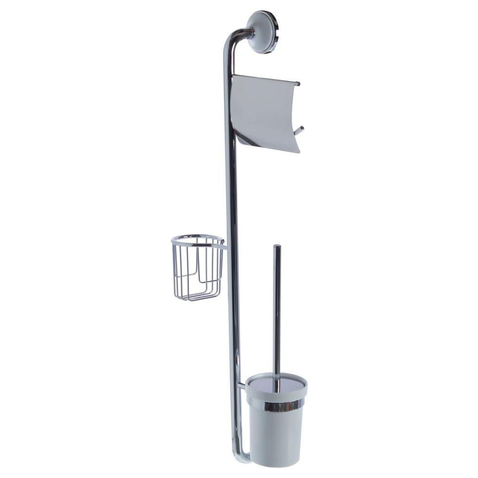 Стойка-ёршик с держателем туалетной бумаги и освежителя воздуха «Aster»