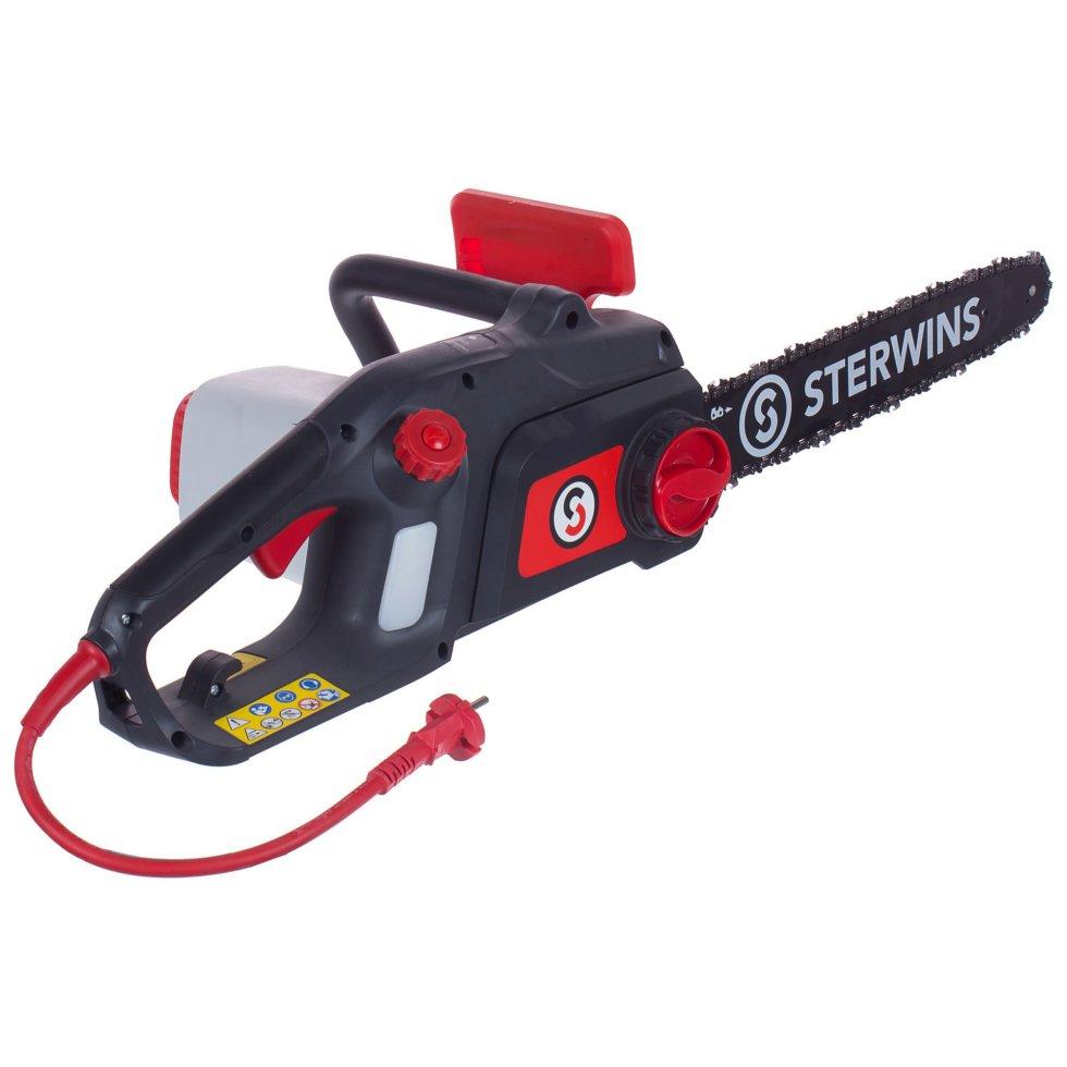 Пила электрическая цепная Sterwins 2200 Вт, шина 40 см