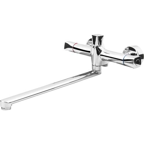 Смеситель для ванны Lotos универсальный двухвентильный