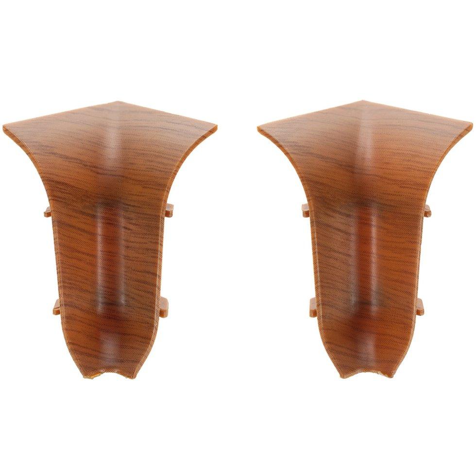 Угол для плинтуса внутренний «Осина Обыкновенная» 47 мм 2 шт.