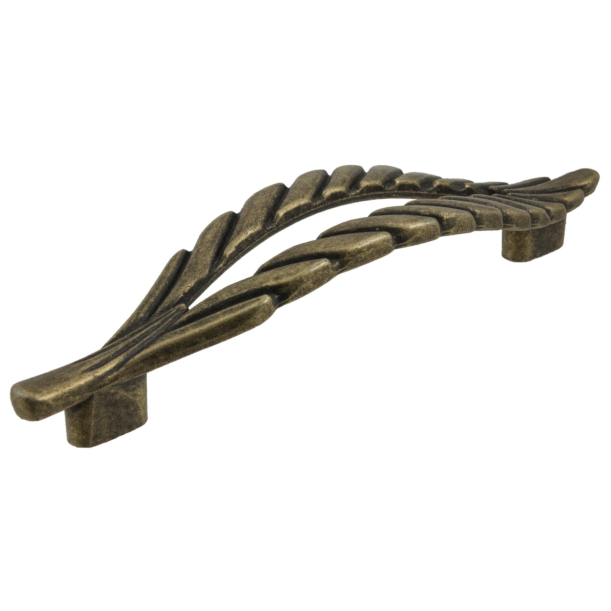 Ручка-скоба Kerron 96 мм цвет оксидированная бронза