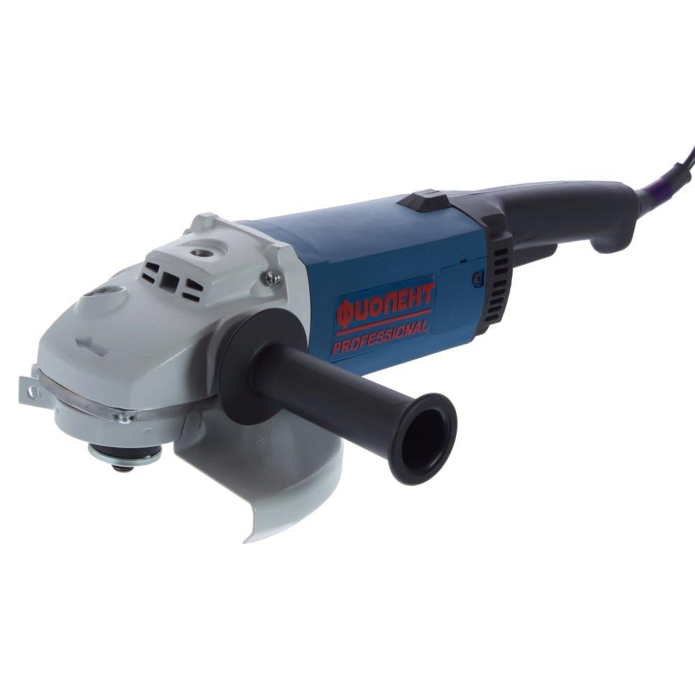 Углошлифовальная машина (болгарка) Фиолент МШУ1-20-230А, 2000 Вт, 230 мм