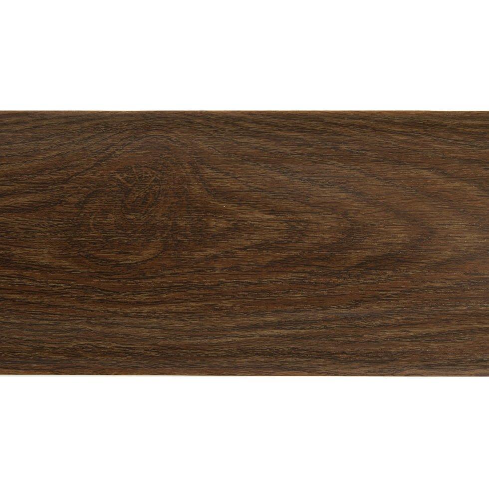 Плинтус напольный ПВХ 85 мм 2.5 м цвет дуб старинный