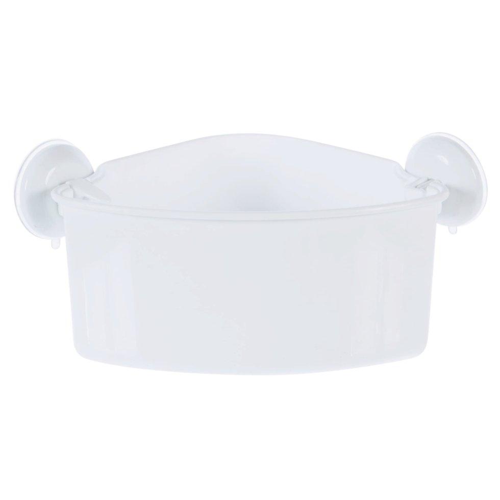 Полка для ванной комнаты Вакуум угловая