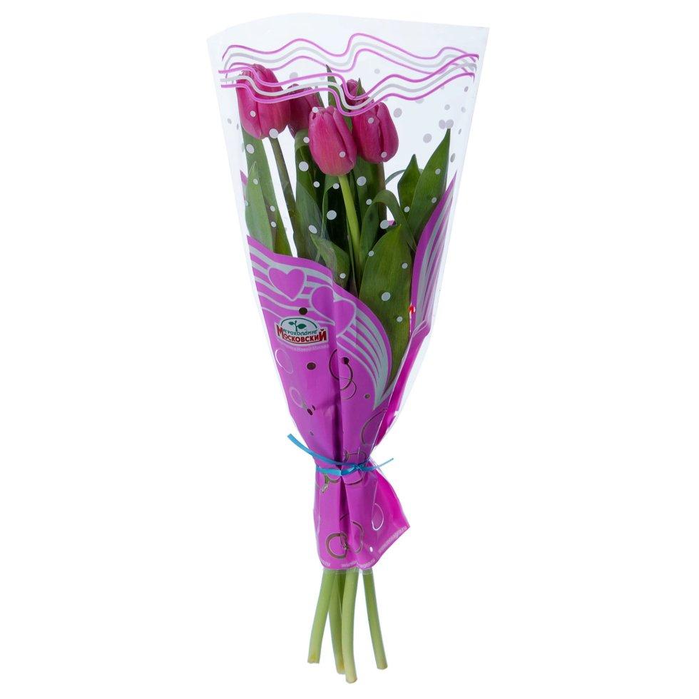 Букет «Тюльпаны», 5 шт.