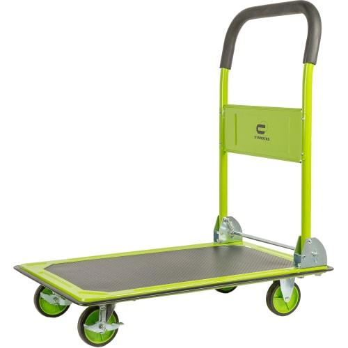 Тележка платформа, 4 колеса, грузоподъемность 150 кг