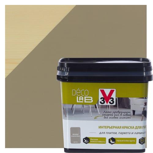 Краска для пола V33 Decolab 0.75 л цвет мрамор