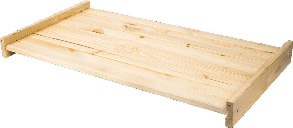 Полка прямая для стеллажа 765x402 мм дерево, 1 шт.