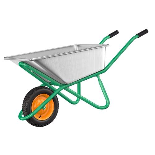Тачка садовая усиленная 200 кг/90 л