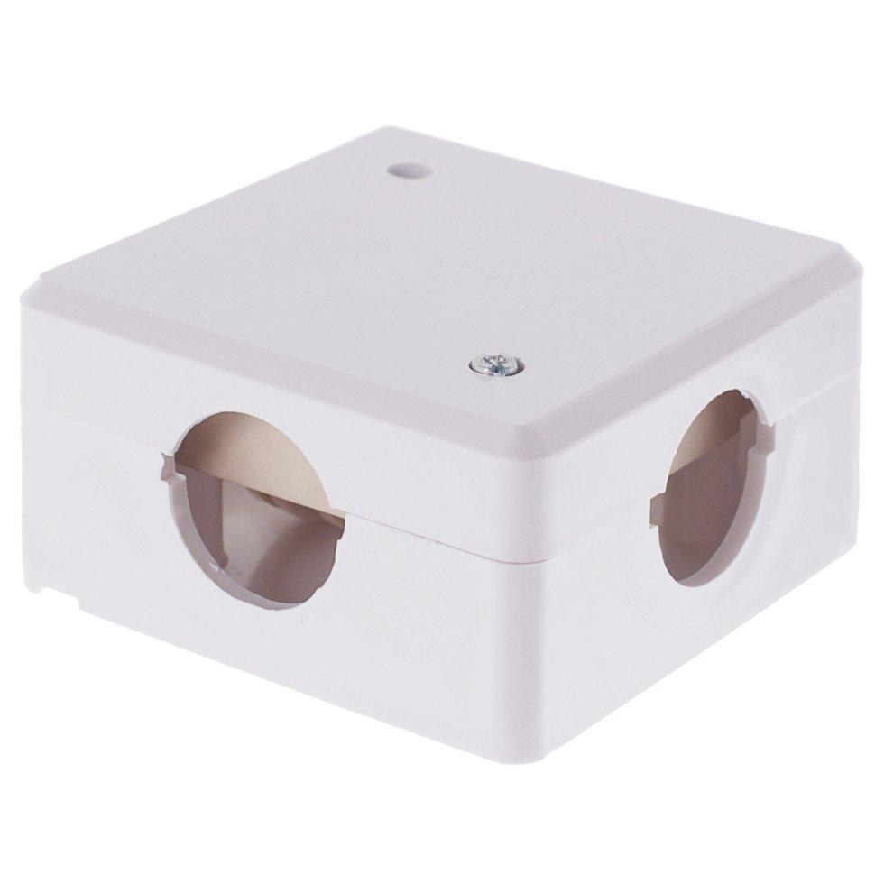 Коробка распределительная ОП 78х78х42 мм с клеммником IP44