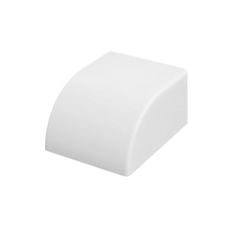 Заглушка 25/16 мм цвет белый 4 шт.
