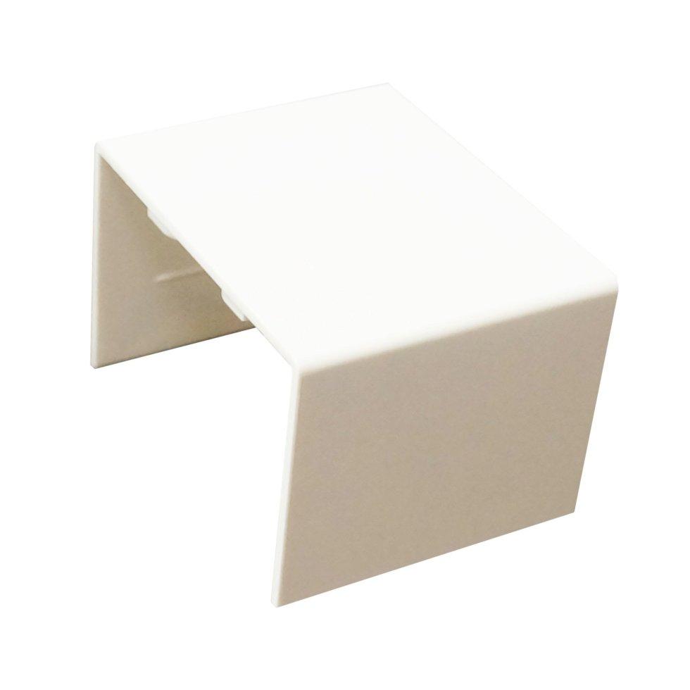 Соединение на стык 40/60 мм цвет белый 2 шт.