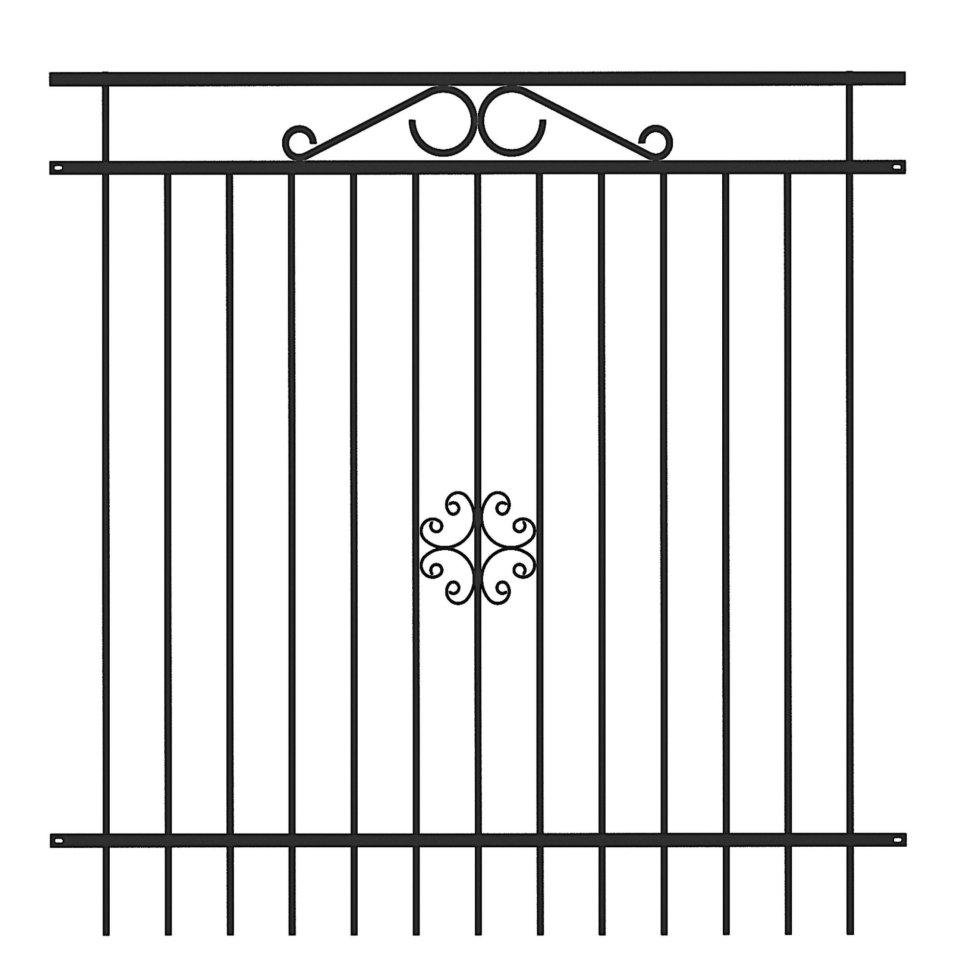 Секция заборная «Версаль» 2x1.95 м