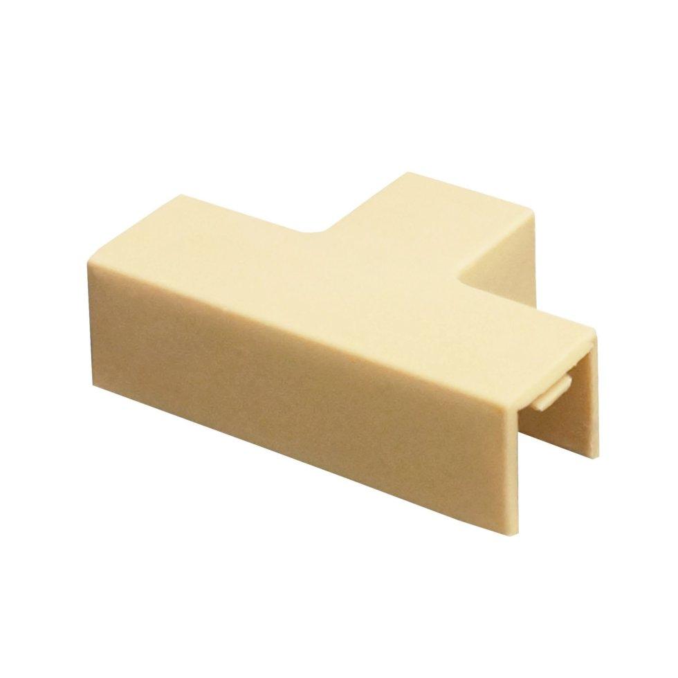 Угол Т-образный 12/12 мм цвет сосна 4 шт.