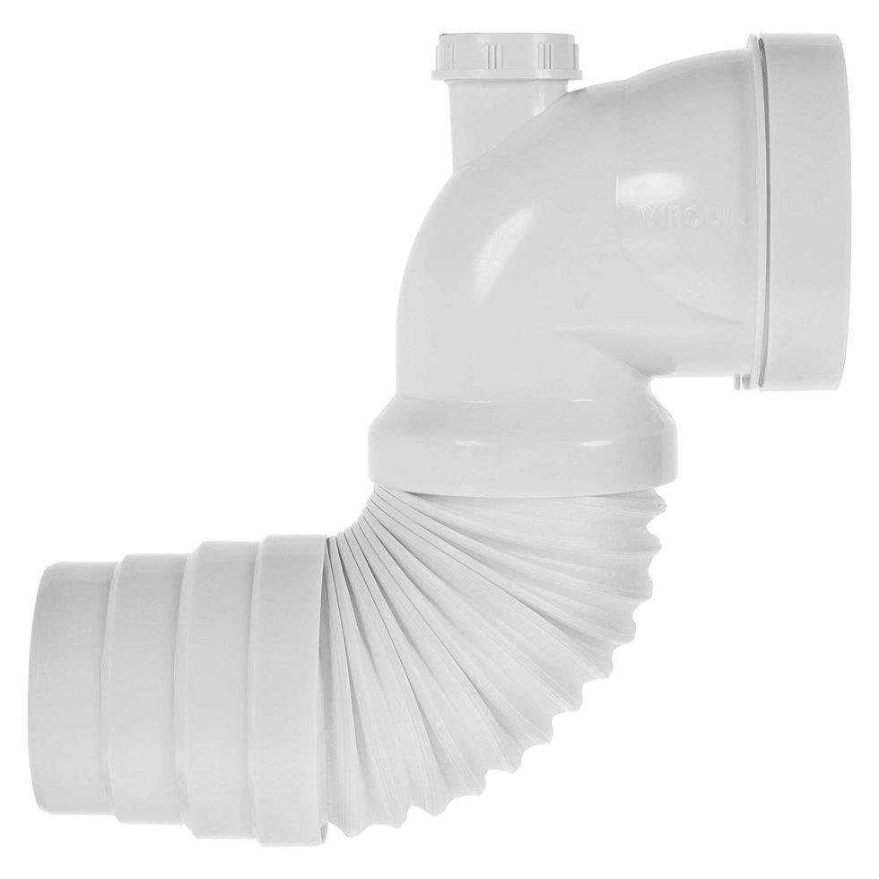 Труба гофрированная Wirquin для унитаза