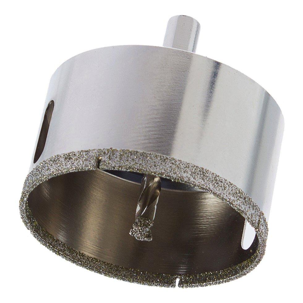 Коронка алмазная по керамике/граниту Matrix D70 мм