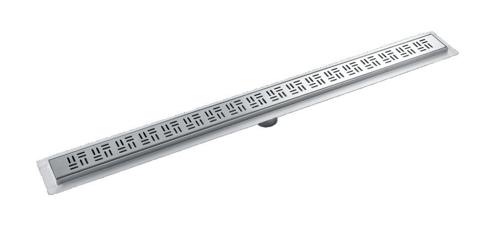 Трап для душа Vidage 1000х70 мм сталь